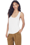 Lightweight Knit Tank (White)