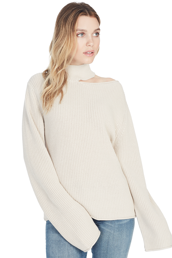 Langley Sweater (Vintage White)