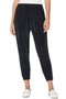 Pleated Velvet Pants (Nero)