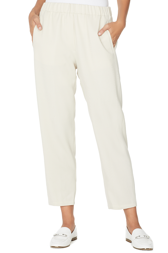 Wool Diagonal Pants (Naturale)