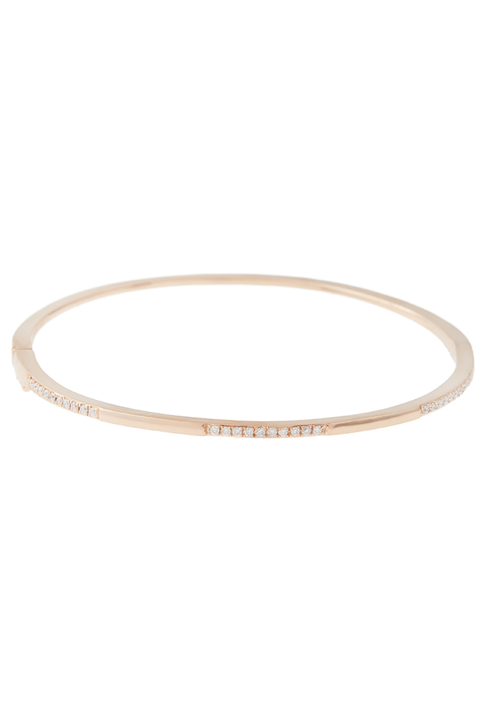 14K Rose Gold Classic Bangle