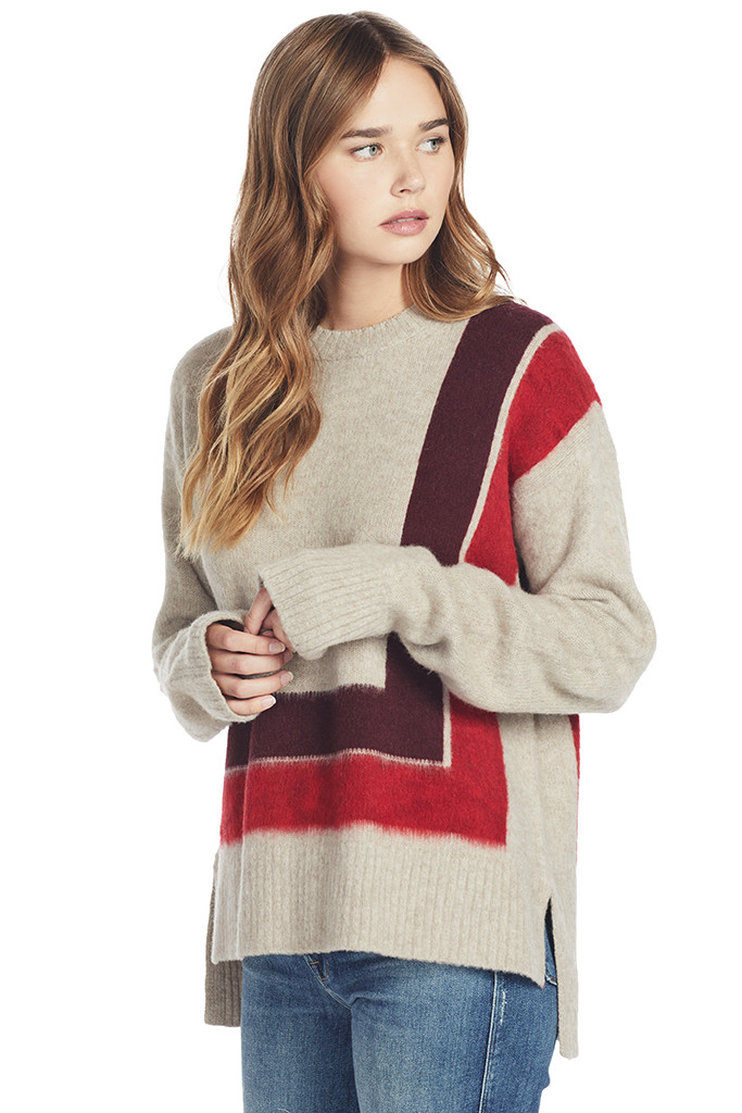 Crewneck Blanket Sweater