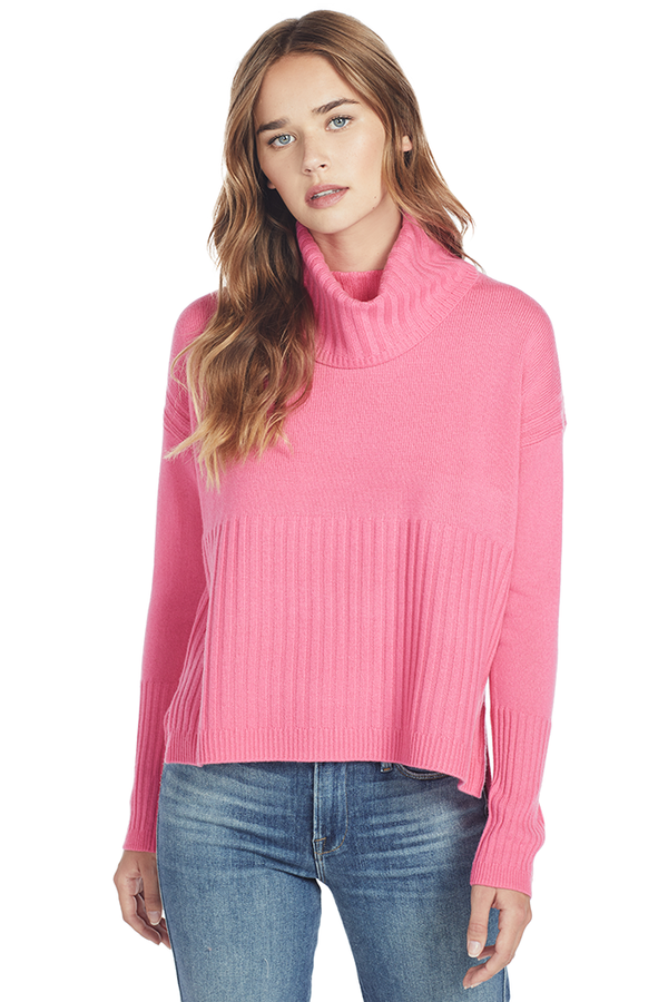 Turtleneck Sweater (Pink)