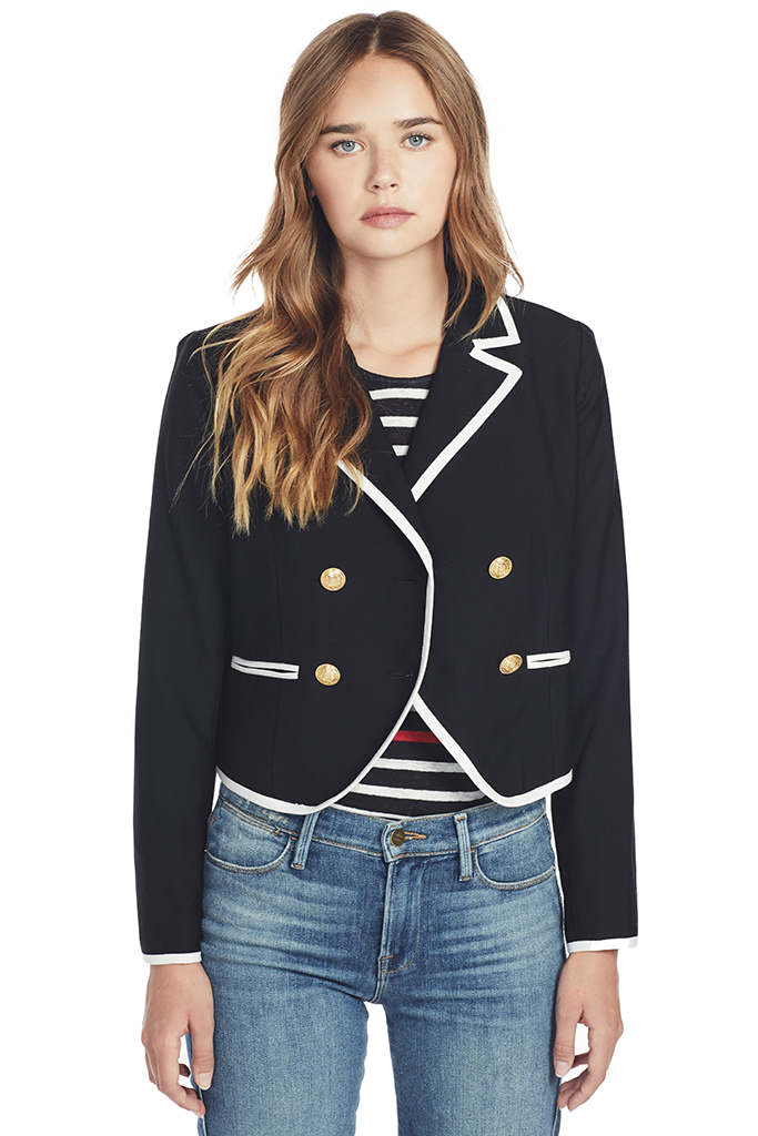 Contrast Double Jacket