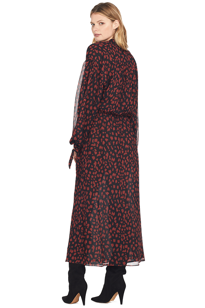 Zahara Dress (Black Print)