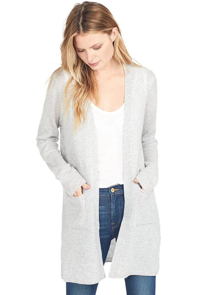ATM Cashmere Cardigan Sweater Duster