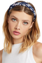 Milk Boutique Floral headband Navy - Women's Headbands