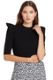 A.L.C. Astor Top (Black)