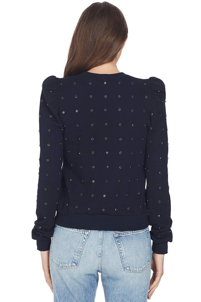 A.L.C. Azalia Sweatshirt (Midnight/Black)