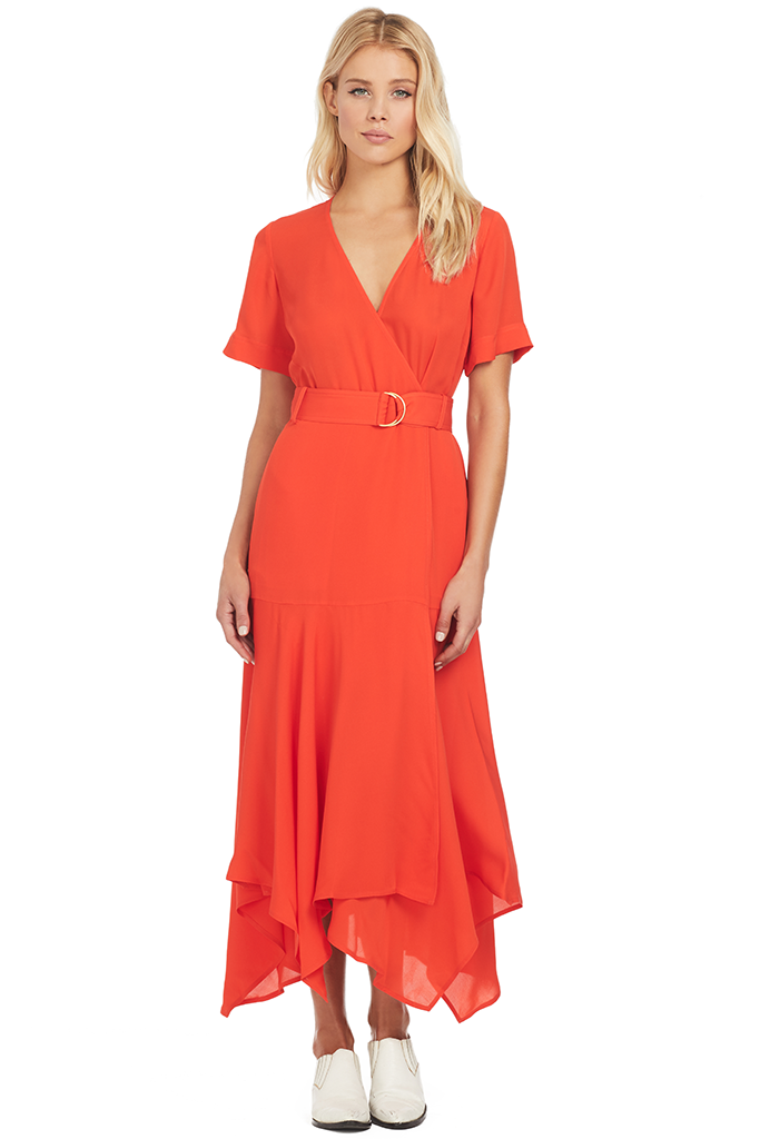 A.L.C. Claire Dress - Poppy