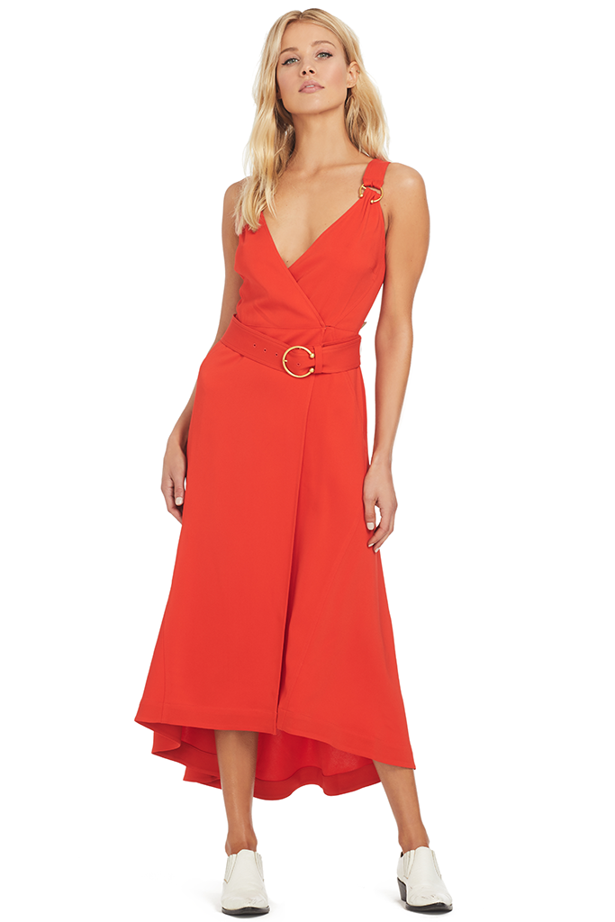 A.L.C. Haley Dress - Poppy