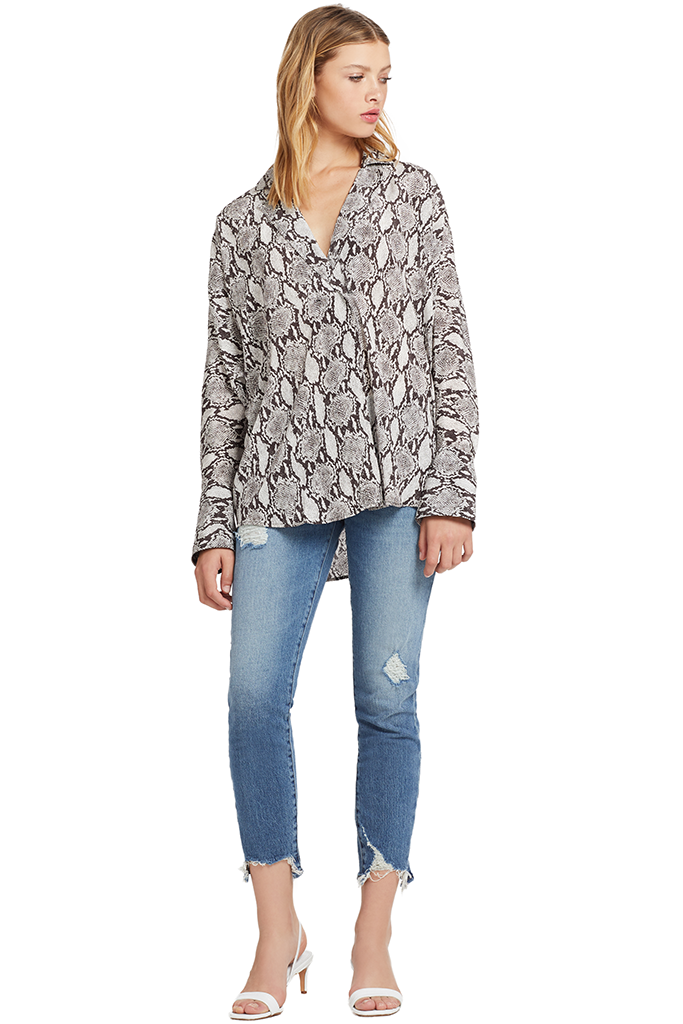 A.L.C. Noreen Top (Snake Print)