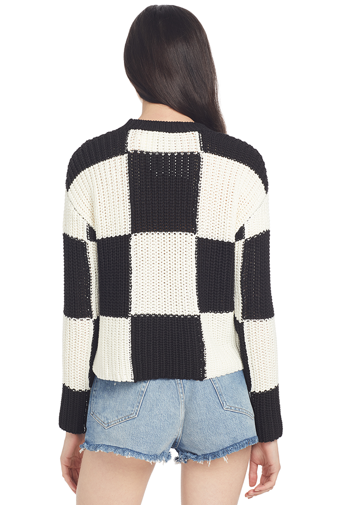 A.L.C. Sam Sweater (Checkered)