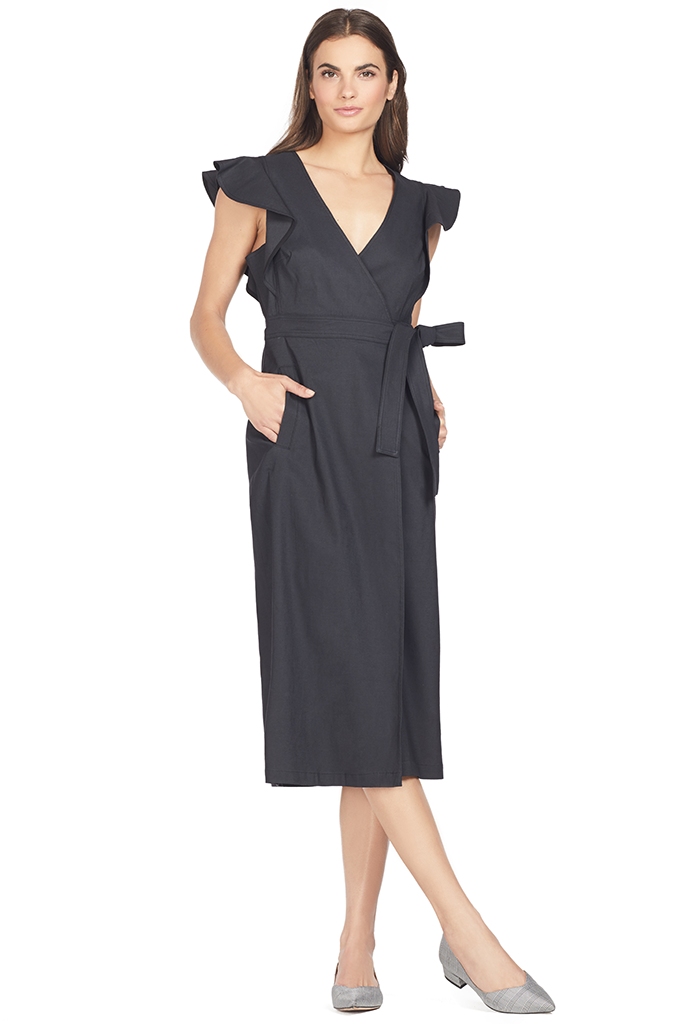 ALC Walker Dress (Vintage Black)