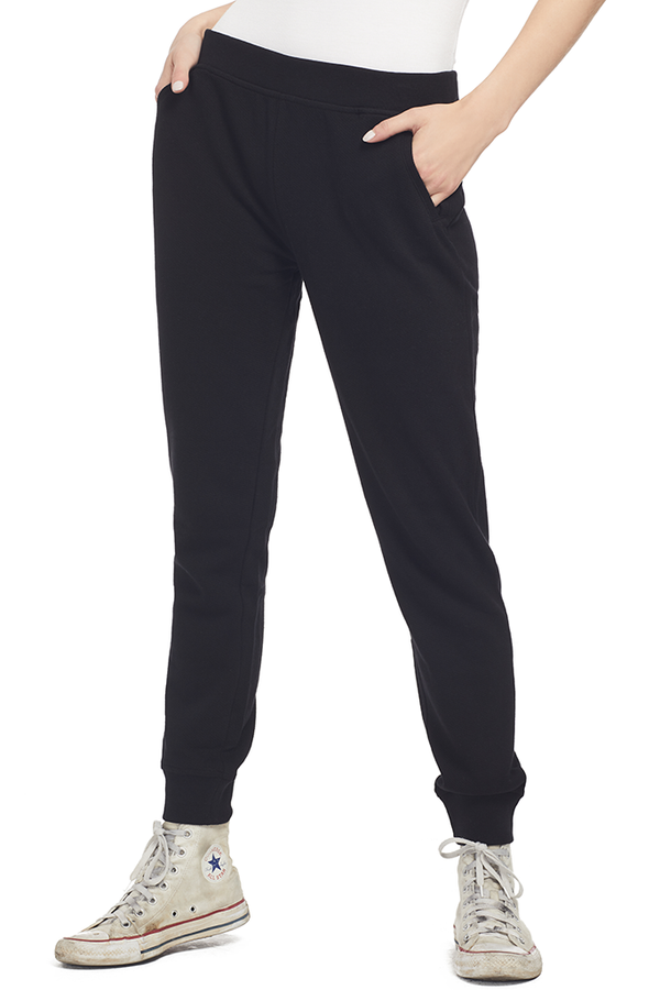 ATM French Terry Slim Sweat Pant (Black)