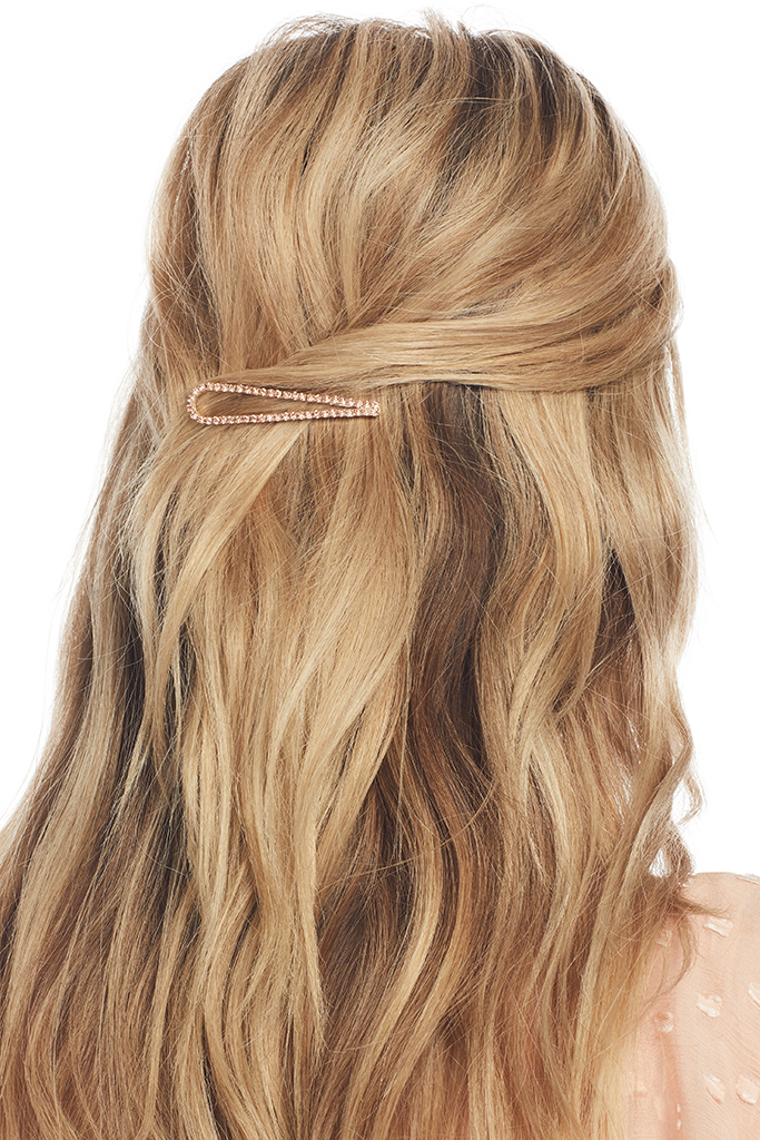 Milk Boutique Ingrid Hair Clip (Rose)