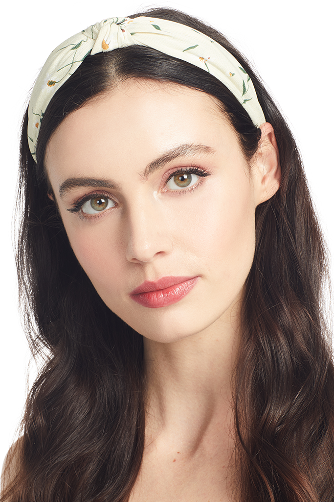 Milk Poppy Headband