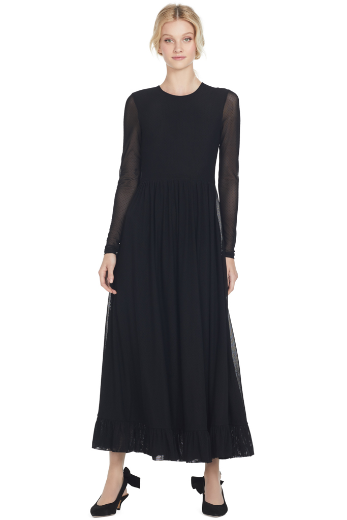Addison Maxi Dress (Black)