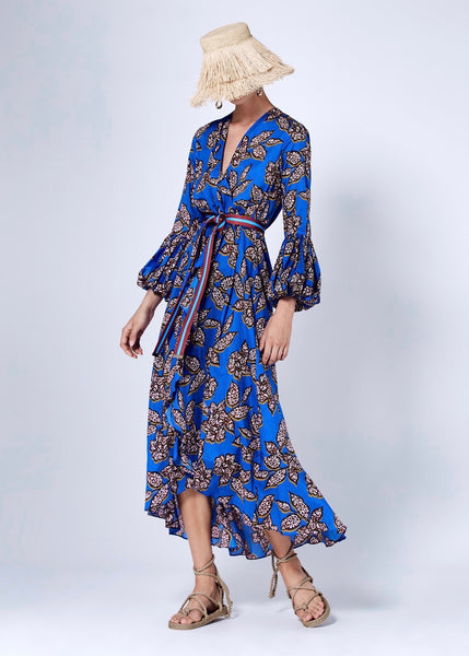 Livana Dress - Saphire Batik