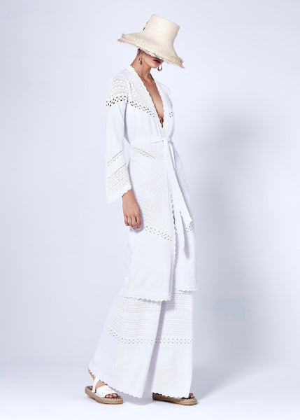 Adalyn Cardigan - White