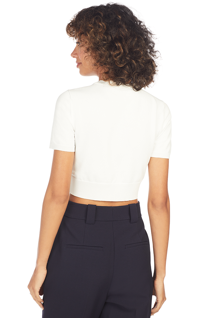 Finzi Crop Top - White