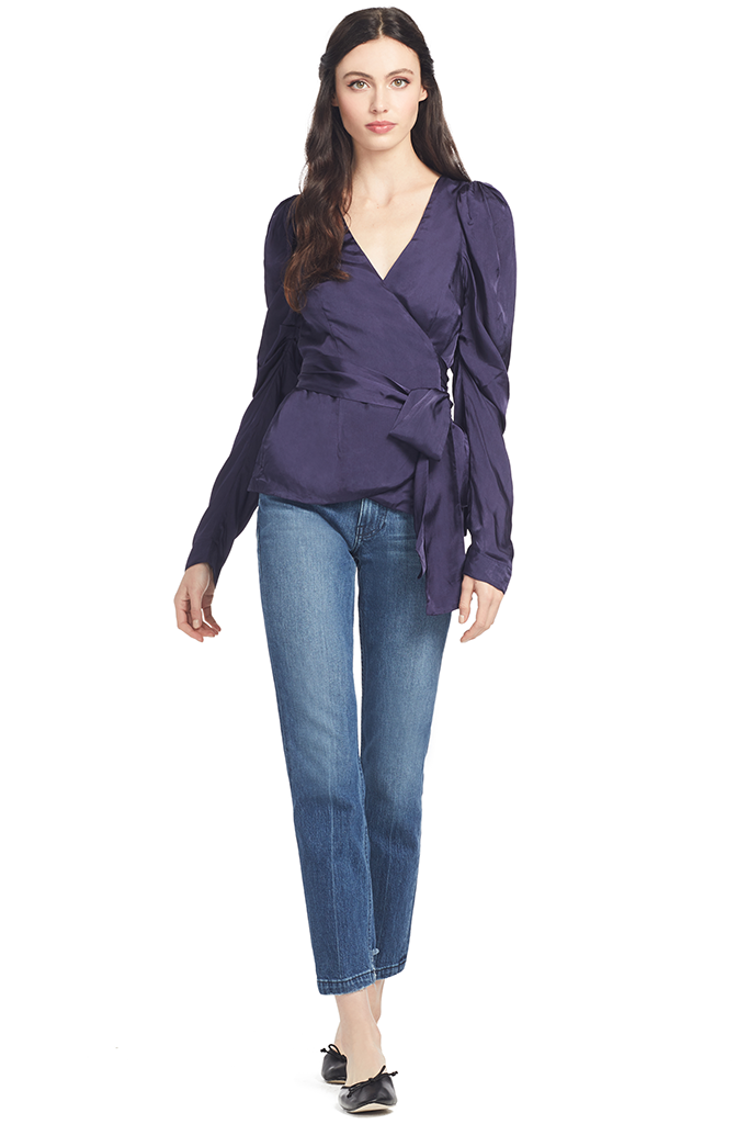 Alice McCall Blue Moon Blouse