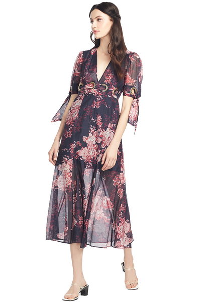 Alice McCall Only Everything Midi Dress (Ink)