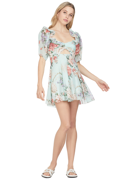 Alice McCall Peony Dress Blue Floral