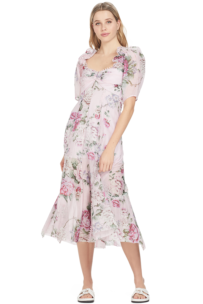 Alice McCall Send Me a Postcard Pink Floral Dress