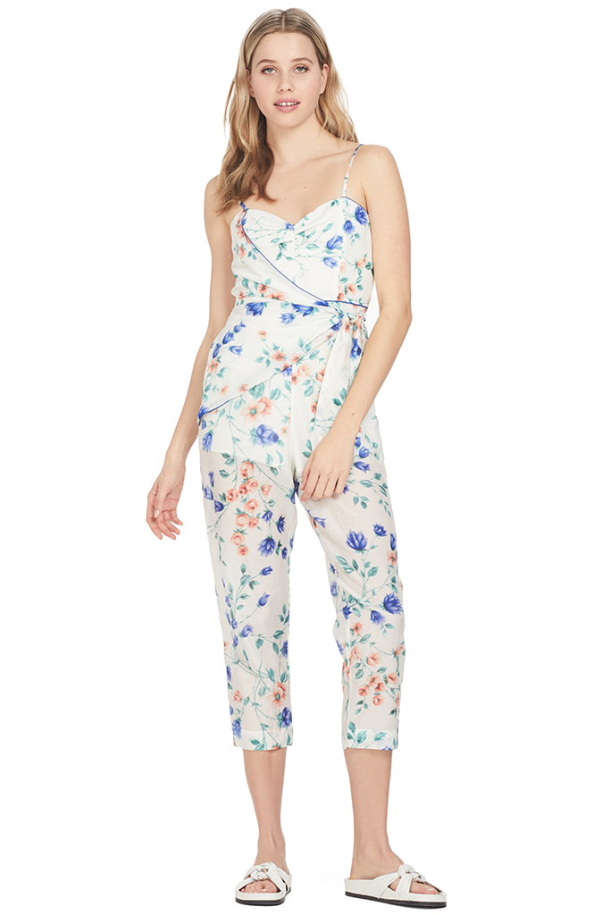 Alice McCall Still Into You Blue Floral Jumpsuit