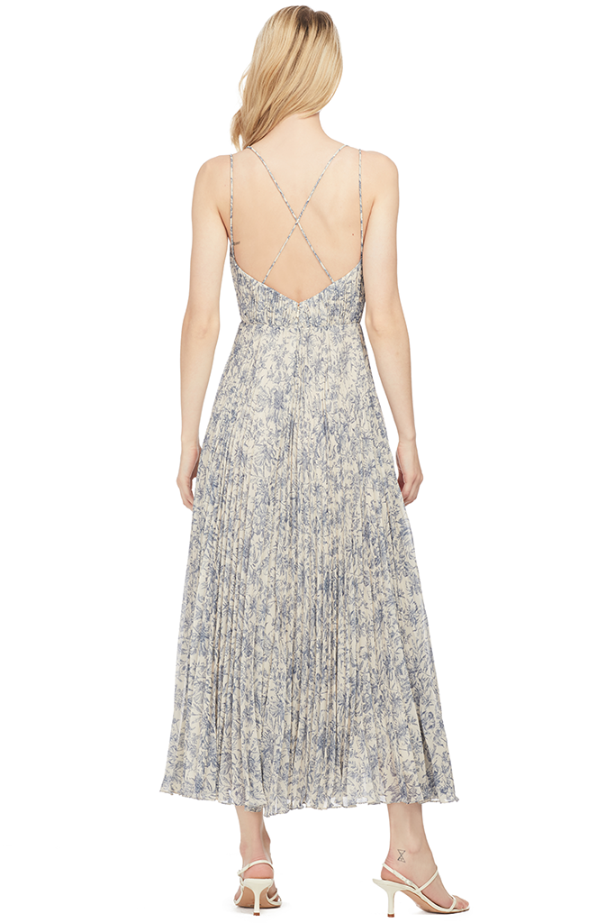 Amur Lucy Floral Sleeveless Maxi Dress - Shopatmilk.com
