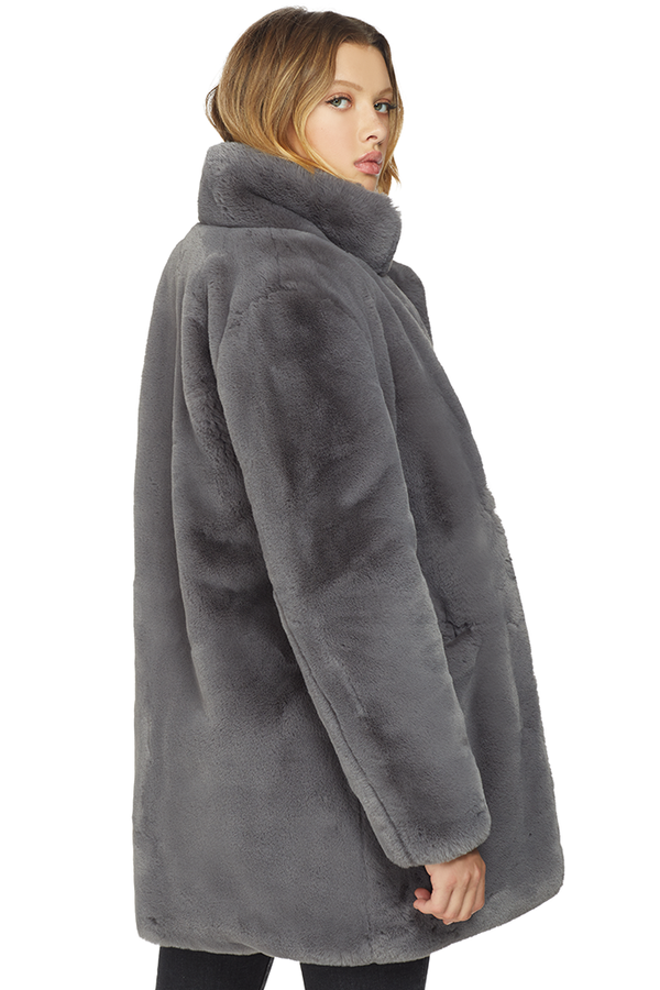 Apparis Sophie Coat (Carbon) - Milk Boutique
