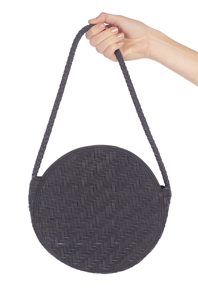 Audrey Bag - Black Nubuck