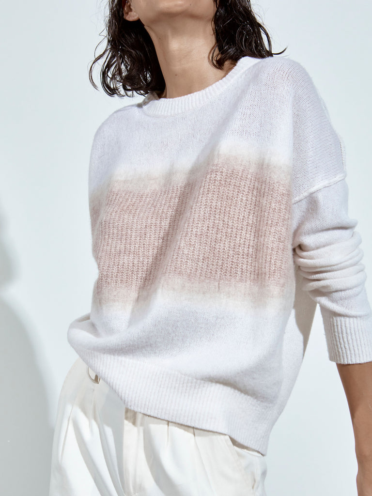 Blended Brighter Crew Sweater - Soy Combo
