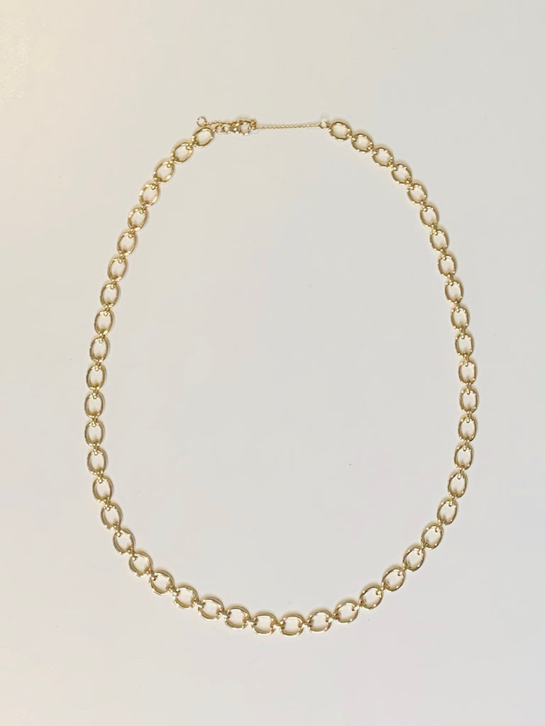 Brooke Gold Chain Necklace - One Size