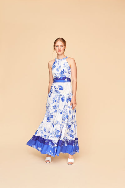 Siasconset Dress - Toile Blue