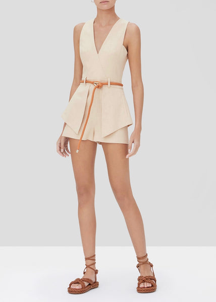Darby Romper - Fawn