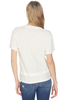 Derek Lam Short Sleeve Tee W/ Slit Detail (White)