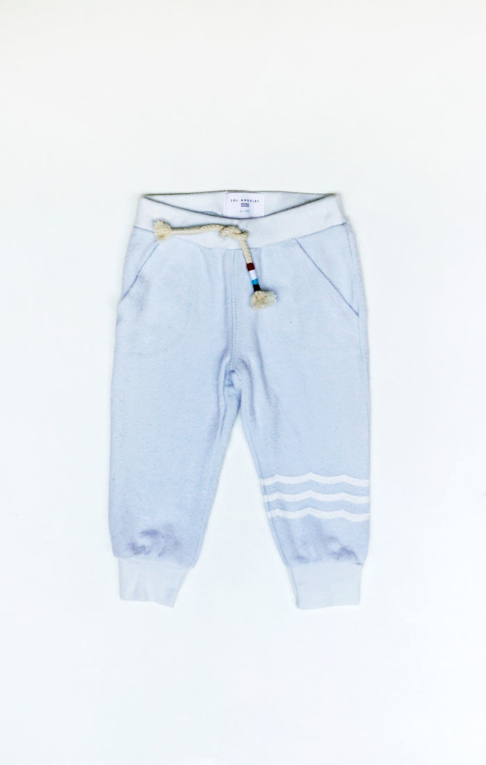 Baby Waves Hacci Jogger (Mist)