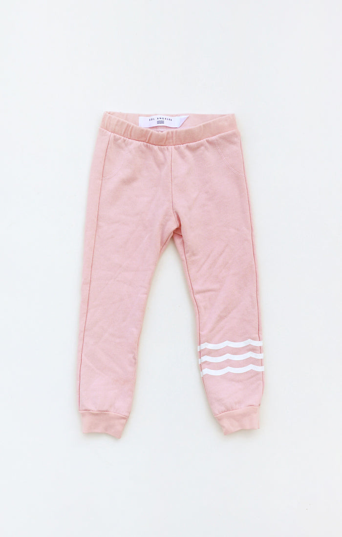 Waves French Terry Pant (Coral)