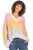 Brie Sweater - Multi Color Ombre