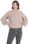 Eleven Six Charlotte Sweater (Pink Heather) - Milk Boutique
