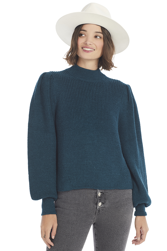 Eleven Six Mia Sweater (Regal Green) - Shopatmilk.com