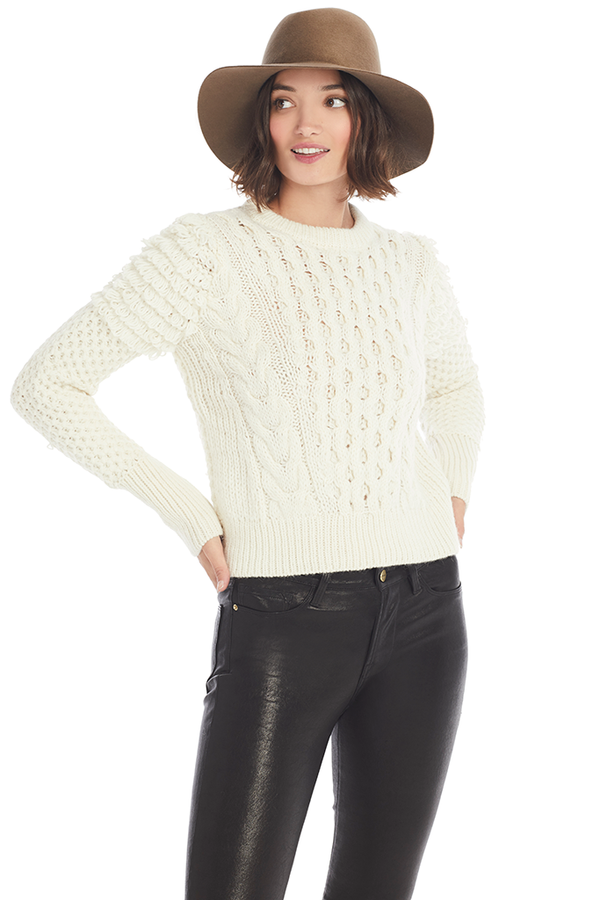 Eleven Six Mila Sweater (Ivory) - Women's Sweaters