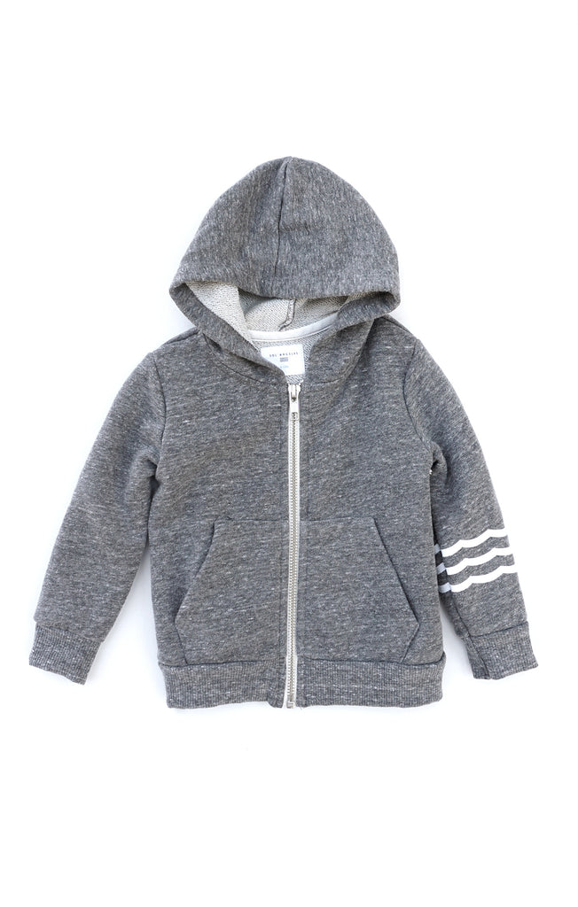 Kids Waves Hoodie Heather