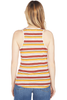 Frame Linen Stripe Tank (Sunrise Multi)