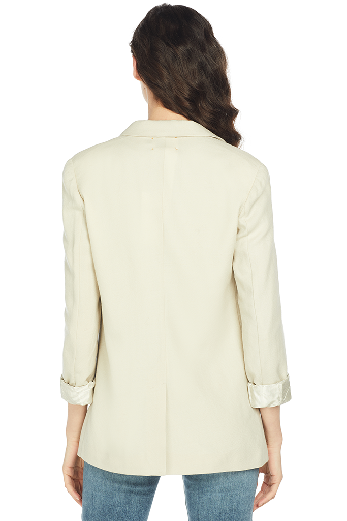 Forte Forte Wool Structured Jacket (Naturale)