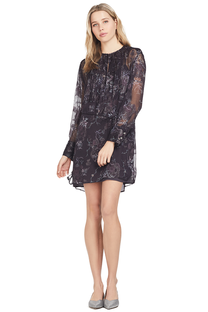 GREY Jason Wu Winter Floral Clip Jacquard Long Sleeve