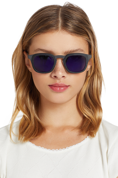 Grey Ant Dieter Sunglasses (Brushed Black/Violet)