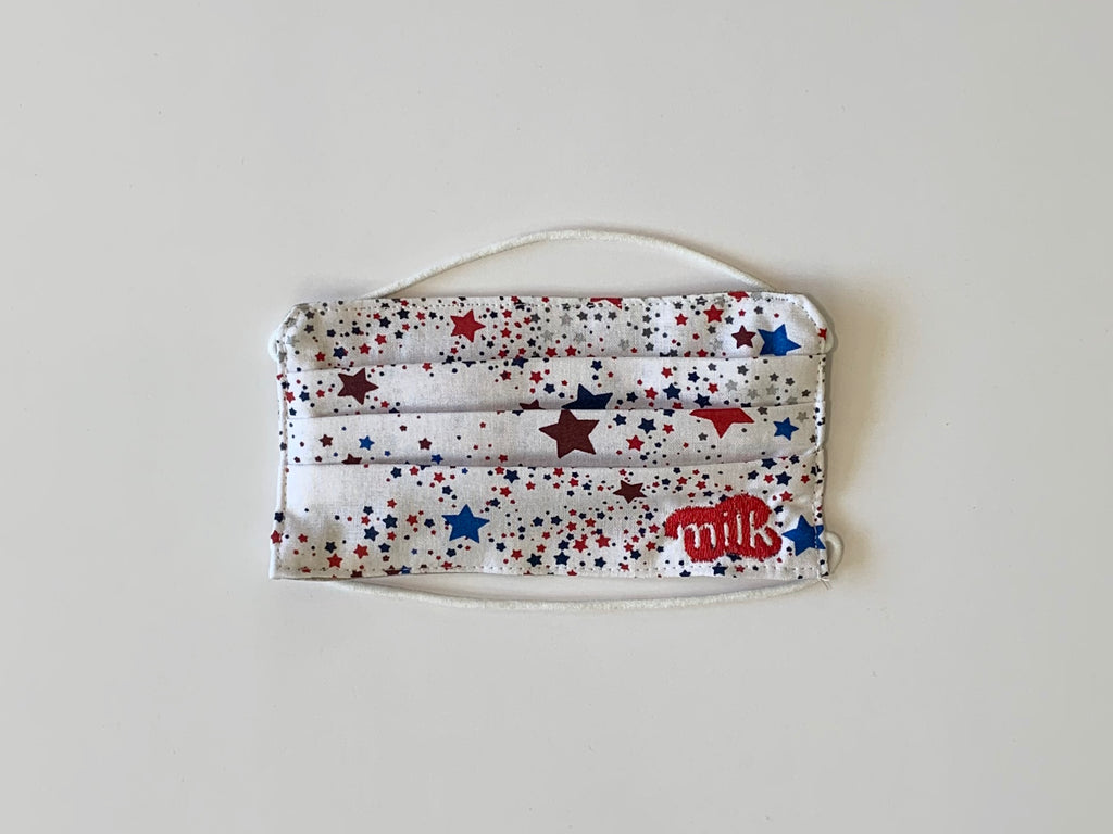 Kid's Red White and Blue Star Mask